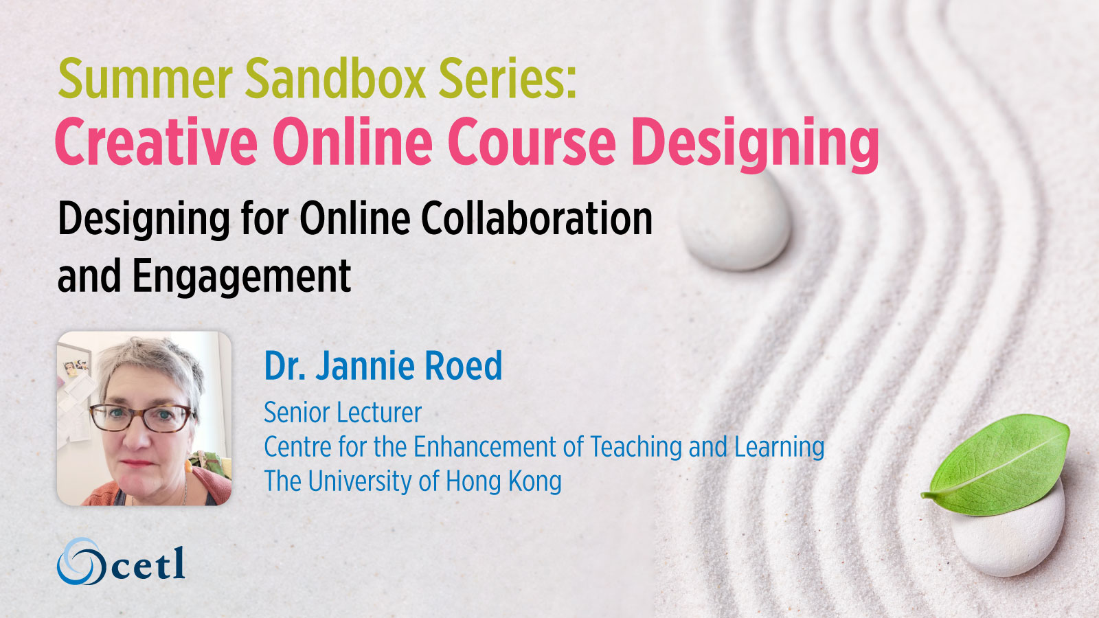 Designing for Online Collaboration and Engagement
