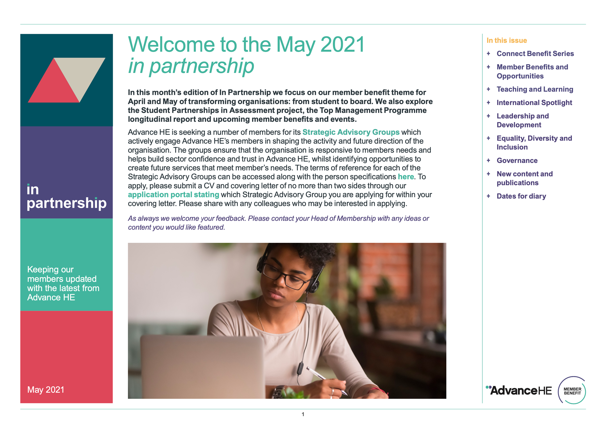 Newsletter 2021 May