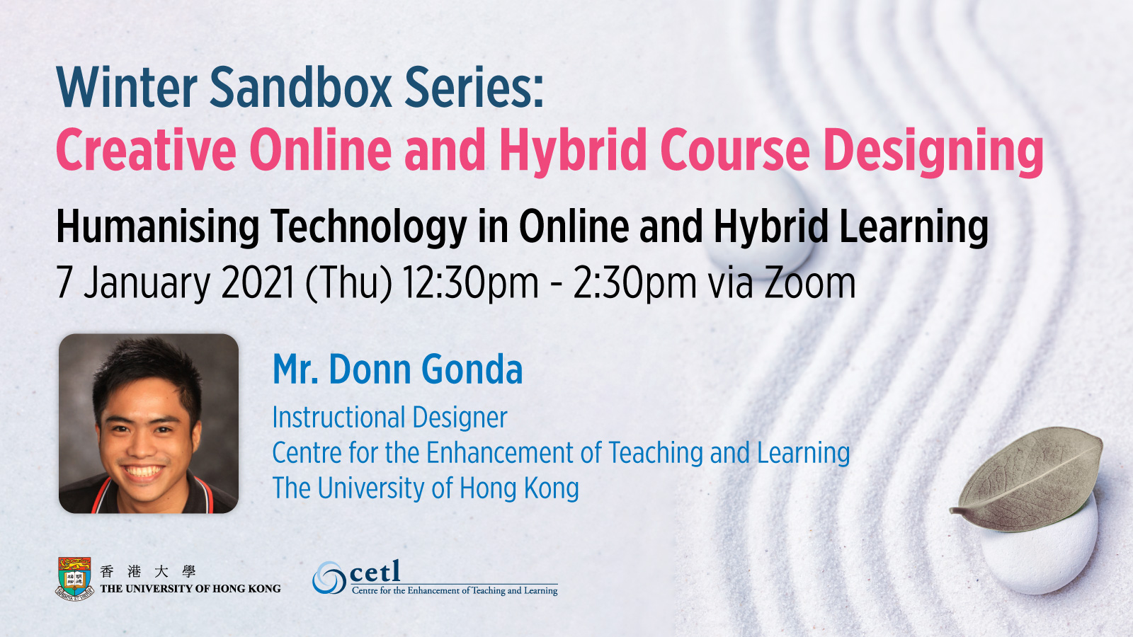 Session 3:  Humanising Technology in Online and Hybrid Learning