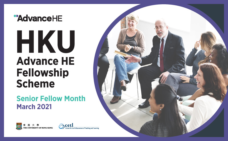 March 2021 is the Senior Fellow Month!