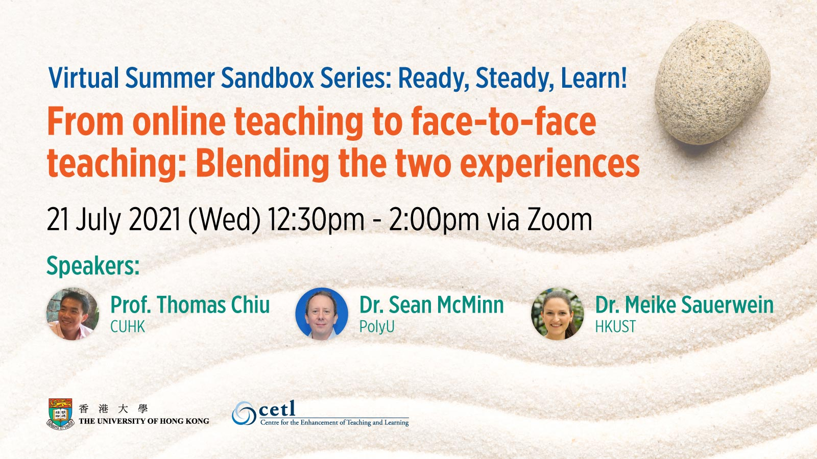 Session 1: From online teaching to face-to-face teaching: Blending the two experiences